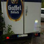 Nach Maifest Kühlwagen aufgebrochen – Hoher Schaden