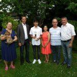 Bürgermeister gratulierte zur Deutschen Meisterschaft