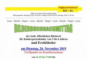 Bilderbuch-Nachmittag @ Bücherei Blatzheim | Kerpen | Nordrhein-Westfalen | Deutschland
