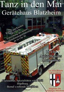 Tanz in den Mai @ Feuerwehrgerätehaus Blatzheim | Kerpen | Nordrhein-Westfalen | Deutschland