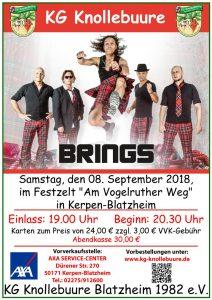 Brings-Konzert @ Festzelt Vogelrutherweg | Kerpen | Nordrhein-Westfalen | Deutschland