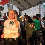 Blatzheims Bezirks-Schülerprinzessin erfolgreich