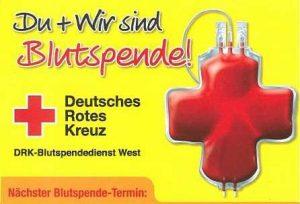 Blutspende @ Mehrzweckhalle Blatzheim | Kerpen | Nordrhein-Westfalen | Deutschland