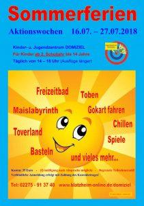 Aktionswochen im DOMIZIEL @ Kinder- und Jugendzentrum DOMIZIEL | Kerpen | Nordrhein-Westfalen | Deutschland
