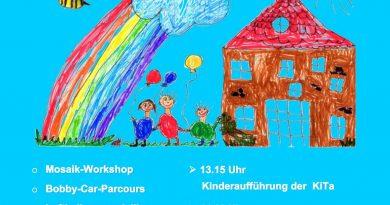 Sommerfest von Kindergarten und Jugendzentrum