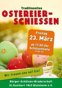 Ostereierschießen @ Schützenhalle Blatzhzeim | Kerpen | Nordrhein-Westfalen | Deutschland