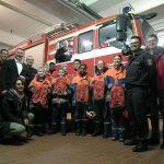 Pfarrgemeinde stiftet neue Rucksäcke für Jugendfeuerwehr