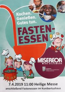 Fastenessen @ Kunibertus-Haus | Eschweiler | Nordrhein-Westfalen | Deutschland