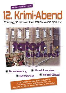Krimiabend @ Bücherei Blatzheim | Kerpen | Nordrhein-Westfalen | Deutschland