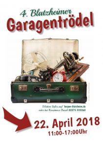 4. Blatzheimer Garagentrödel @ Blatzheim | Kerpen | Nordrhein-Westfalen | Deutschland