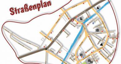 Garagentrödel – Aktueller Straßenplan