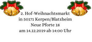 Hof-Weihnachtsmarkt @ Neue Pforte 18 | Kerpen | Nordrhein-Westfalen | Deutschland