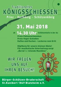 Prinzen- und Königs-Schiessen @ Schützenhalle | Kerpen | Nordrhein-Westfalen | Deutschland