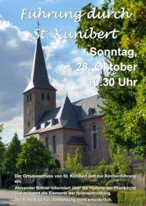 Führung durch St. Kunibert @ Pfarrkriche St. Kunibert | Kerpen | Nordrhein-Westfalen | Deutschland