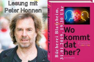 Wo kommt dat her? - Lesung mit Peter Honnen @ Bücherei Blatzheim | Kerpen | Nordrhein-Westfalen | Deutschland