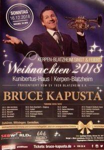 Weihnachtskonzert mit Bruce Kapusta @ Kunibertus-Haus | Kerpen | Nordrhein-Westfalen | Deutschland