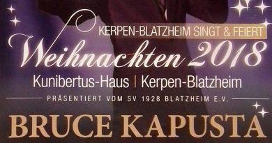 Weihnachtskonzert mit Bruce Kapusta