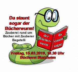 Da staunt sogar der Bücherwurm @ Bücherei Blatzheim   Kerpen   Nordrhein-Westfalen   Deutschland