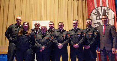 60 Jahre bei der Feuerwehr – Ehrungen und Beförderungen