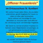 """""""Offener Frauenkreis"""" in St. Kunibert"""