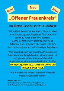 Offener Frauenkreis @ Kunibertus-Haus | Kerpen | Nordrhein-Westfalen | Deutschland