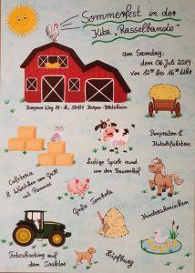 Sommerfest Rasselbande @ Kindergarten Rasselbande | Kerpen | Nordrhein-Westfalen | Deutschland