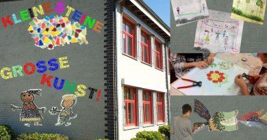 Kunstprojekt in der letzten Ferienwoche