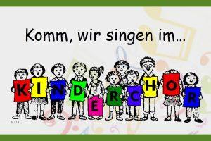1. Chroprobe Kinderchor @ Kunibertus-Haus | Kerpen | Nordrhein-Westfalen | Deutschland