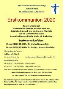 Elternabend Erstkommunion @ Kunibertus-Haus | Kerpen | Nordrhein-Westfalen | Deutschland