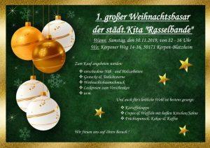 Weihnachtsbasar in der Rasselbande @ Kita Rasselbande | Kerpen | Nordrhein-Westfalen | Deutschland