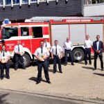 Ehrungen und Beförderungen bei der Feuerwehr