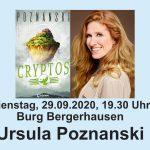 Ursula Poznanski liest in der Burg Bergerhausen
