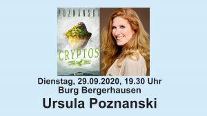 Ursula Poznanski liest in der Burg Bergerhausen @ Burg Bergerhausen | Kerpen | Nordrhein-Westfalen | Deutschland