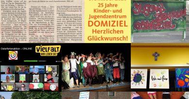 DOMIZIEL: Seit 25 Jahren ein Treffpunkt für Kinder und Jugendliche