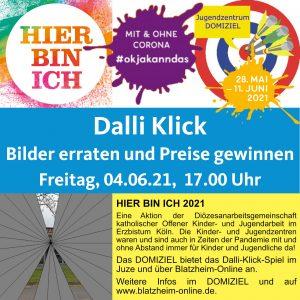 Hier bin ich - Dalli Klick @ Kinder- und Jugendzentrum DOMIZIEL | Kerpen | Nordrhein-Westfalen | Deutschland